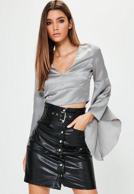 Блуза с широкими рукавами MISSGUIDED, XL
