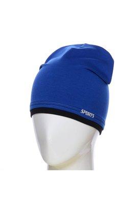 Стильная трикотажная шапка в разных цветах и размере 52-54