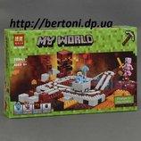 Конструктор Bela Minecraft 10620 Подземная железная дорога