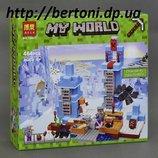 Конструктор Bela Minecraft Ледяные шипы арт. 10621