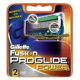 Gillette Fusion ProGlide Power 2 картриджа в упаковке