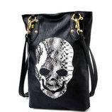 Модная женская сумка с принтом черепа В наличии