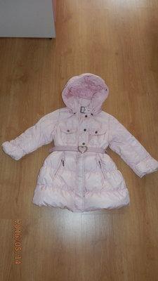 Пуховое пальто Moncler, Оригинал,для Вашей принцессы