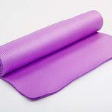 Каремат NBR 10мм с фиксирующей резинкой коврик для фитнеса 3357 размер 1,83х0,8м