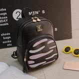 Городской рюкзак с зеброй на кармане В Наличии