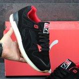 Кроссовки мужские Puma black/red
