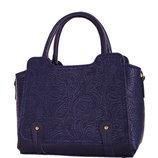 Синяя женская недорогая сумка
