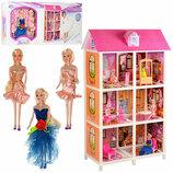Кукольный домик 66886 с мебелью и куклами