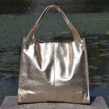 Кожаная женская сумка Mesho разные цвета