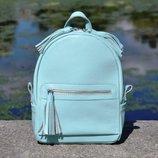 Кожаный женский рюкзак Meri разные цвета