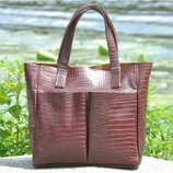 Кожаная женская сумка Палермо разные цвета