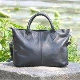 Кожаная женская сумка Валенсия
