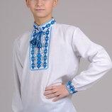 Рубашка - вышиванка, рост 122 - 152