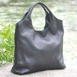 Кожаная женская сумка Ницца