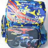 Школьный рюкзак для мальчиков Monster Track синий 3448