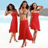 Пляжное платье-трансформер 12 цветов AL7033