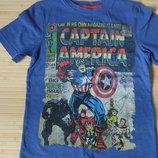 Футболка Капитан Америка супер герой