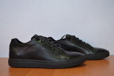 Кожаные мужские кроссовки Shamrock.