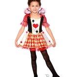 Детский костюм для девочки Королева карт