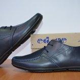 детские кожаные туфли на школу
