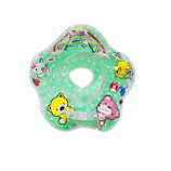 Круг для купания младенца Разные Цвета с погремушками , круг на шею