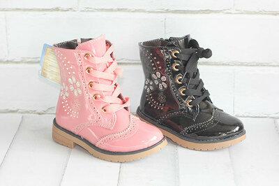 Демисезонные ботинки Шалунишка. Размеры 25, 26, 28