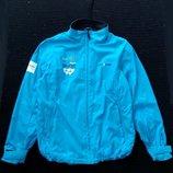 Яркая демисезонная куртка, р-р L, курточка, ветровка, штормовка, дождевик