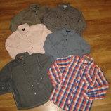 Рубашки с длинным рукавом на 6-7 лет в идеале