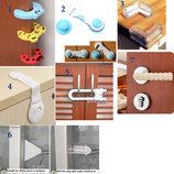 Защита на двери, ящики, стол. Детская безопасность