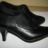 Ботильйони стильні нові брендові шкіряні Footglove Оригінал Великобританія р.3,5 стелька 23 см