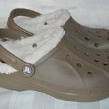 крокси сабо Crocs оригінал утеплені шльопанці розмір 37 38 39 40 41 42
