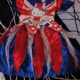 Карнавальное новогоднее платье Hello Kitty на 5-6лет