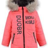 Зимняя куртка на флисе 98-122р