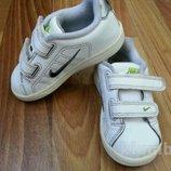 Оригинальные кожаные кроссовки NIKE