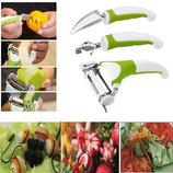Набор ножей для нарезки овощей и фруктовTriple Slicer, Трипл Слайсер овощечистка