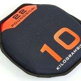 Мягкий диск гантеля Sand Bells 5718-10 вес 10кг, диаметр 30см