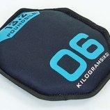 Мягкий диск гантеля Sand Bells 5718-6 вес 6кг, диаметр 26см