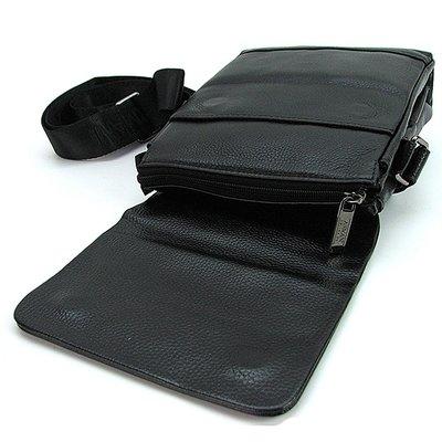 Сумка мужская малая кожаная планшет черная Giorgio Armani 7911-1. Previous  Next 2649d5a586d