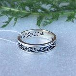 Кольцо серебряное Амина
