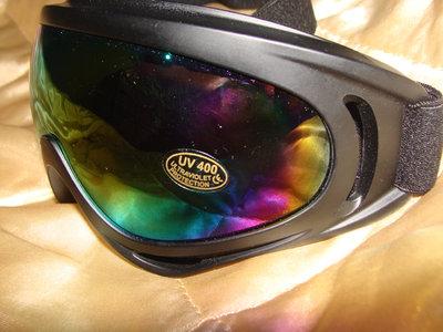 очки маска лыжная зеркальная черная идеал Uvex Alpina