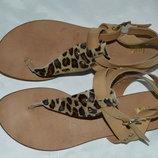 Босоніжки сандалі шкіра Oxmox Італія розмір 42 41, босоножки сандали