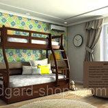 Кровать детская Мария натуральное дерево