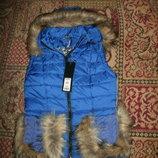 куртка желетка разные цвета