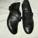 Туфли кожаные clarks 37-38 размер