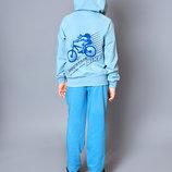 Джемпер кофта худи олимпийка на молнии с капюшоном для мальчика