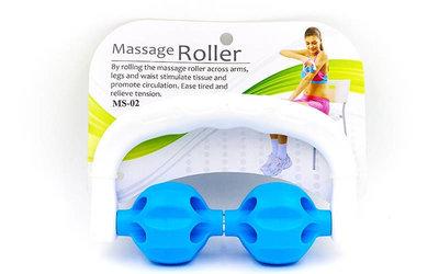 Массажер-Ручной роликовый Massage Rope MS-02- 2 шарика, 17см