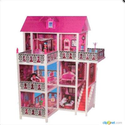 Детский кукольный домик для Барби 66888