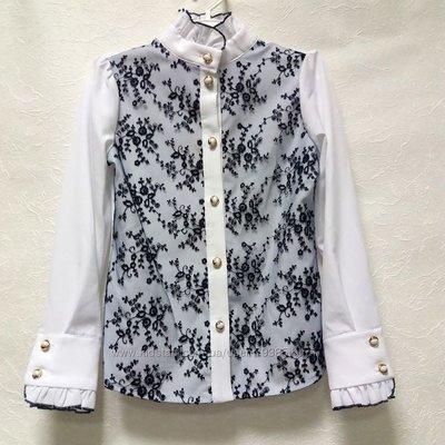 8643028b5a02 Нарядная блуза для школьницы Николет Тм Suzie  530 грн - рубашки в ...