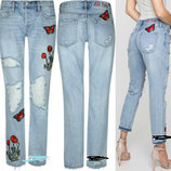 стильні голубі джинси р40 нові бірки Tally Weijl