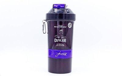 Шейкер 3-х камерный для спортивного питания Smart Shaker 6020027 600мл, пластик